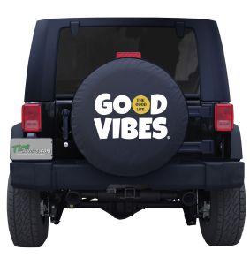 Good Vibes The Good Life Custom Tire Cover Jeep Wrangler
