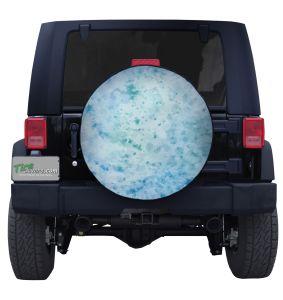 Planet Uranus Tire Cover