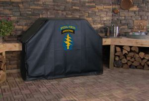 U.S. Army Special Forces Airborne Logo Grill Cover
