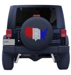 USA Tire Cover