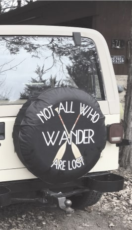 Exclusive Custom Made Tire Covers