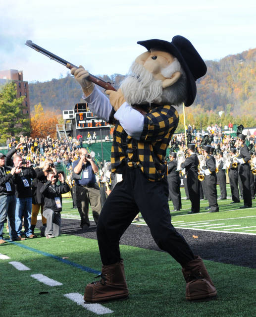Appalachian State Yosef the Mascot