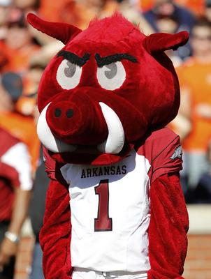 Arkansas State Tusk Mascot