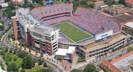 University of Florida Ben Hill Griffin Stadium