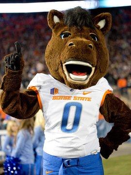 Boise State Bronco Mascot