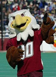 Boston College Baldwin the Eagle