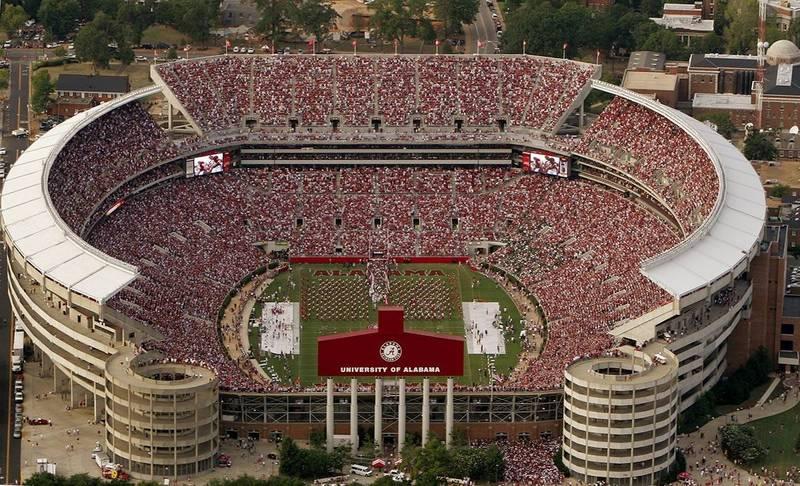 Bryant Denny Stadium Tuscaloosa Alabama