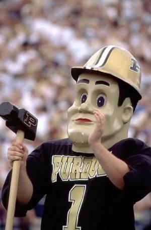 Purdue University Purdue Pete Mascot