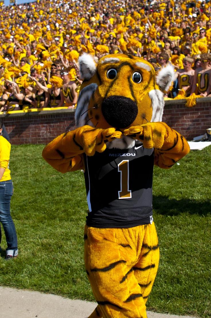 University of Missouri Truman the Tiger Mascot