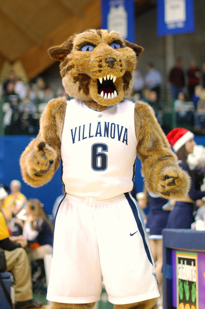 Villanova University Will D. Cat Mascot
