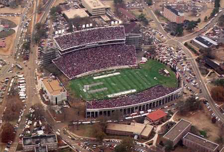 Mississippit State University Davis Wade Football Stadium