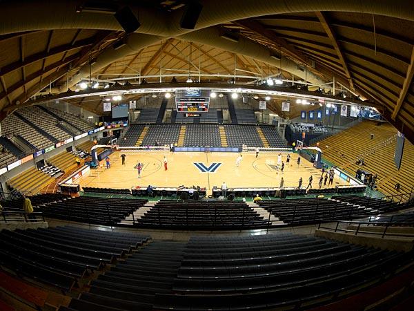 Villanova University The Pavillion Basketball Court