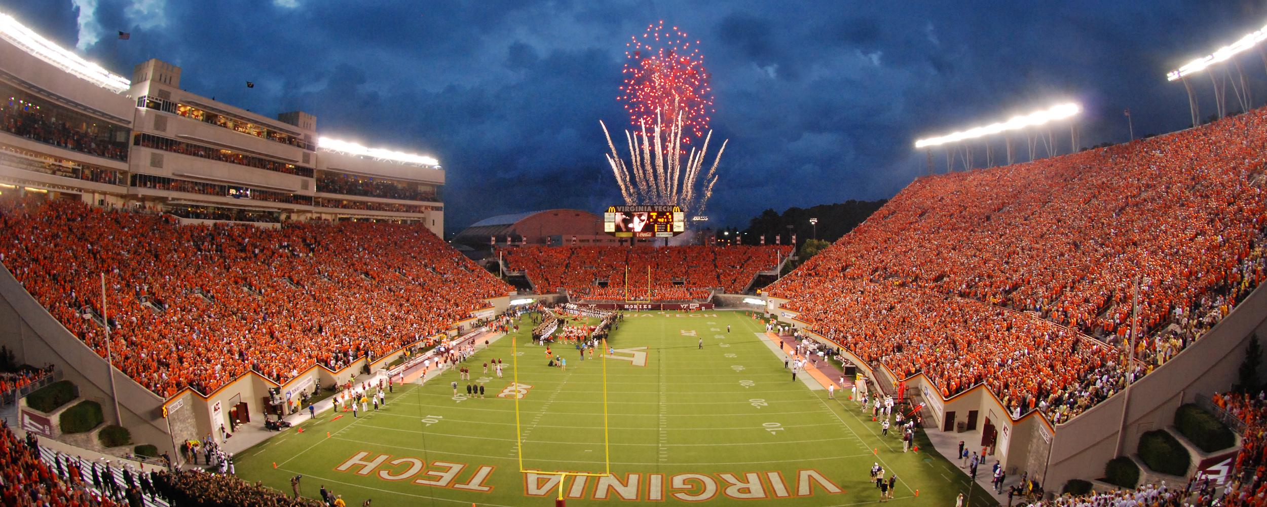 Virginia Tech Lane Stadium