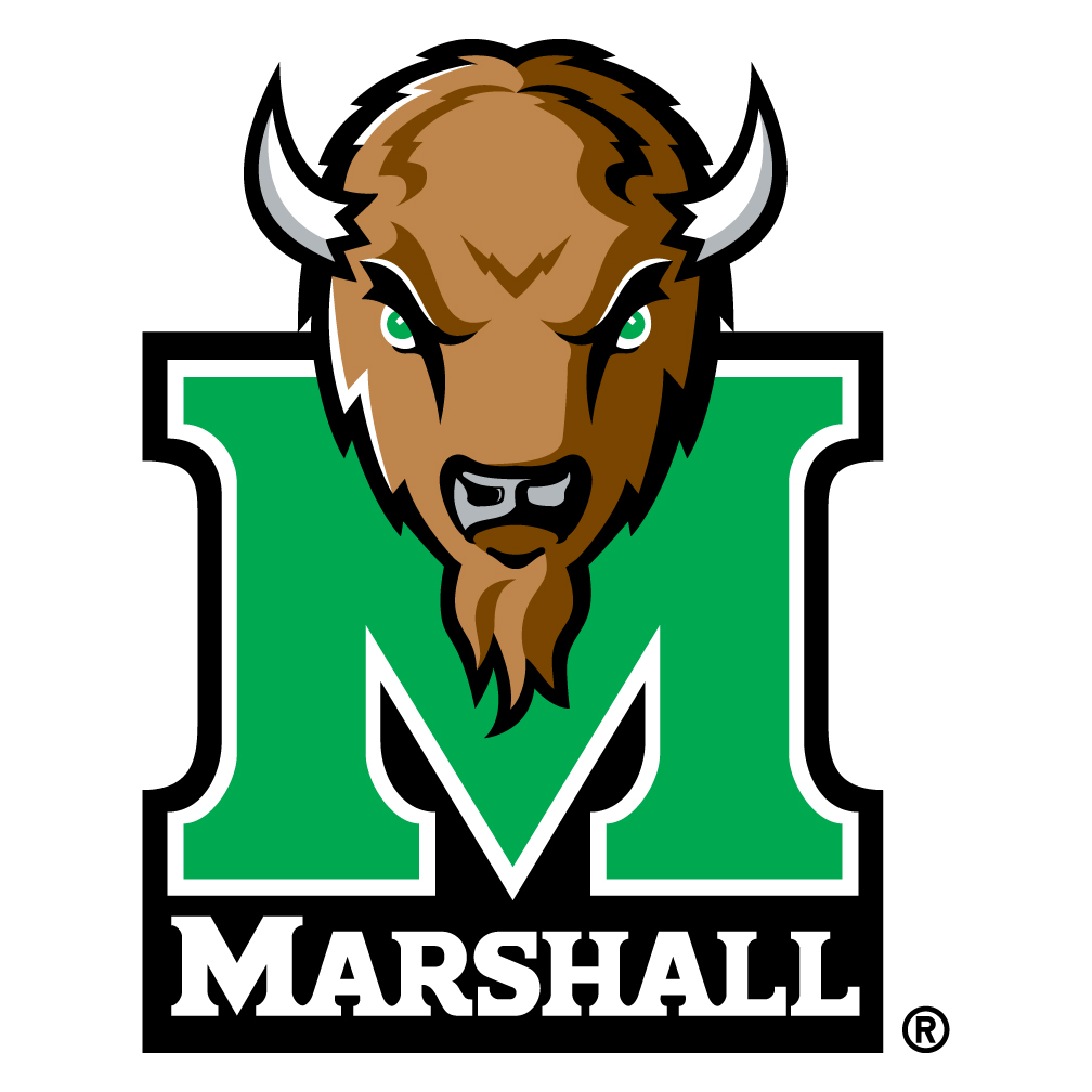 Marshall University Spare Tire Cover with Bison Logo