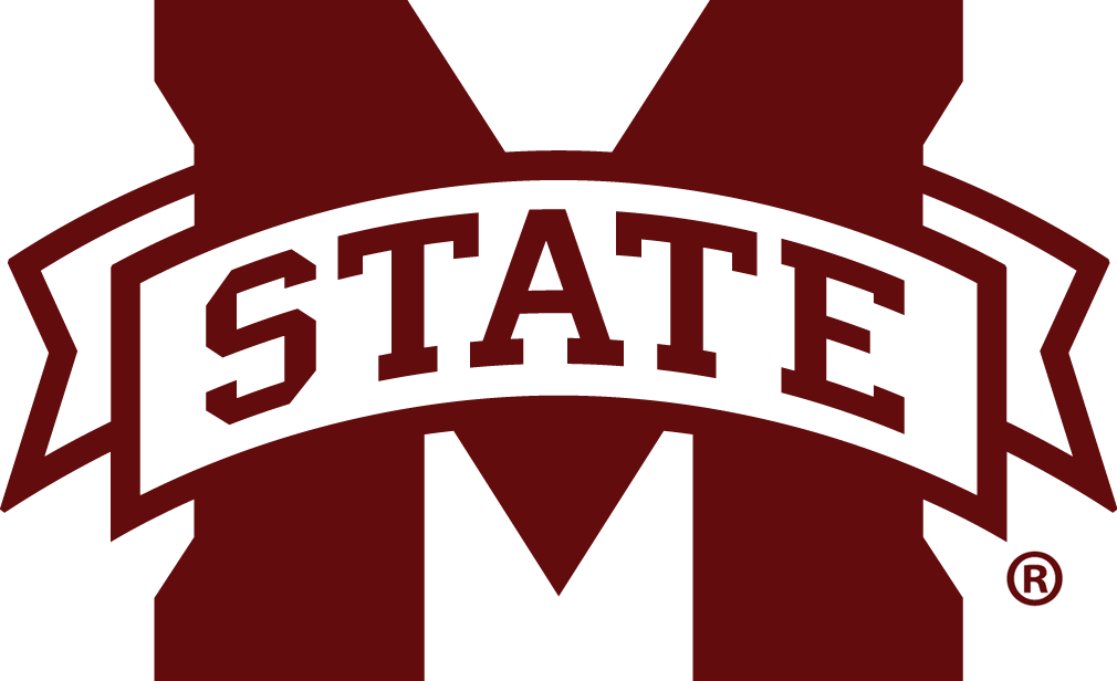 Mississippi State University Spare Tire Cover with Script Logo