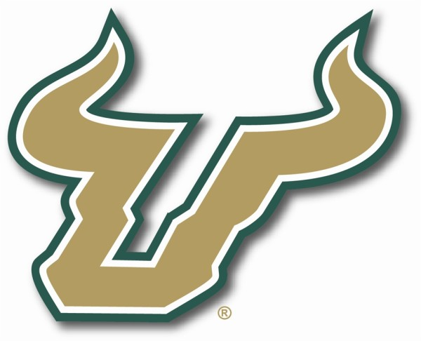 University Of South Florida Spare Tire Cover With Bulls Logo