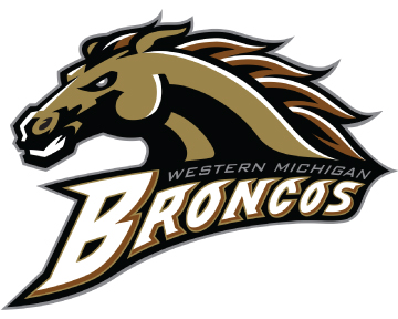 Western Michigan University Bronco Logo