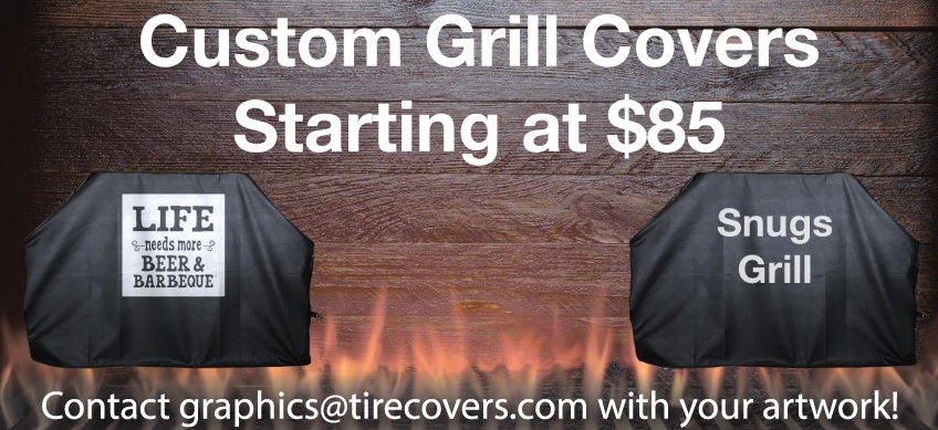 Custom Grill Covers | Logo Grill Cover