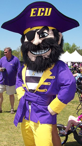 East Carolina University Mascot