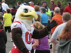 Eastern Washington University Swoop the Eagle Mascot