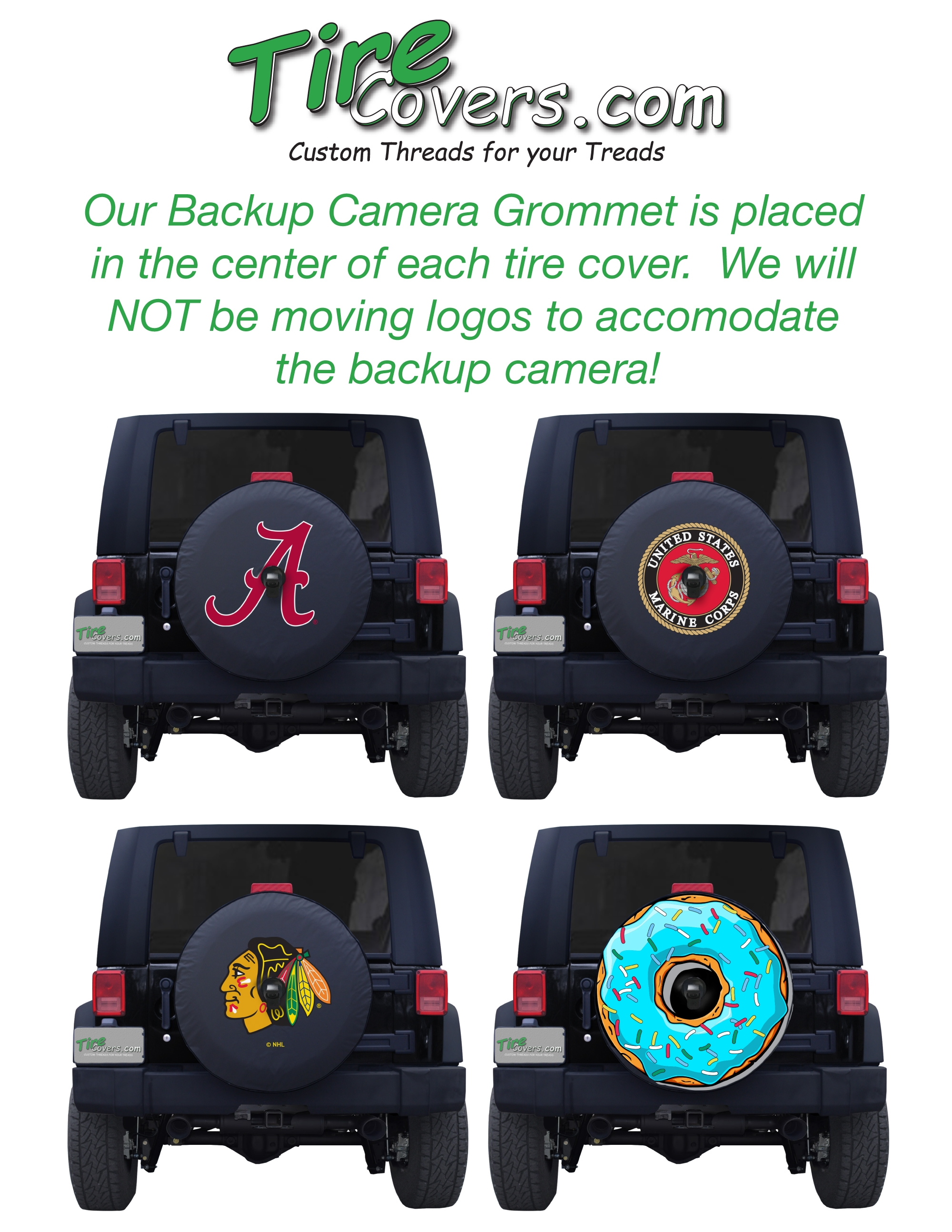 Superb Click Here To See An Example Of How Graphics Will Look ·   Click Here To  Watch The Installation Video For 2018 Jeep Wrangler JL Tire Cover ...