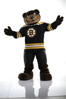 Boston Bruins Blades the Bruin Mascot
