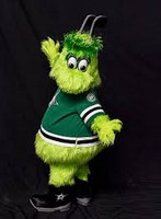 Dallas Stars Victor E. Green Mascot