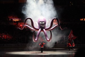Detroit Red Wings Al the Octopus Mascot