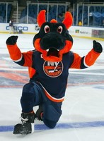 New York Islanders Sparky the Dragon Mascot