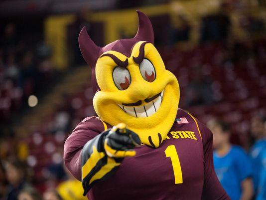 Arizona State Sparky Sun Devil Mascot