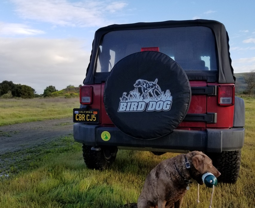 Hunting Dog Tire Covers