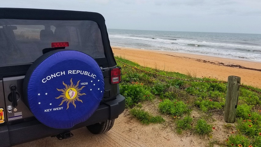 Conch Republic Tire Cover