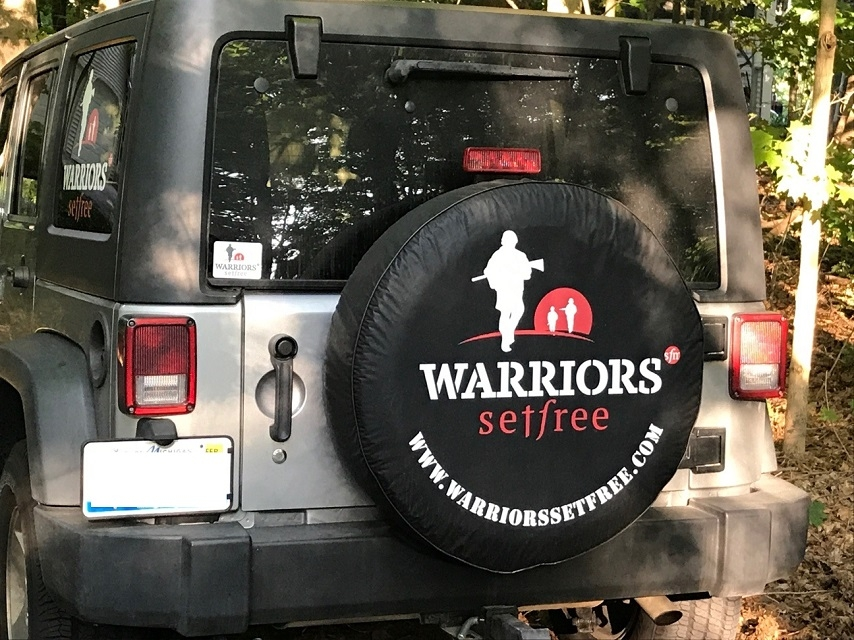 Warrior Set Free Tire Cover