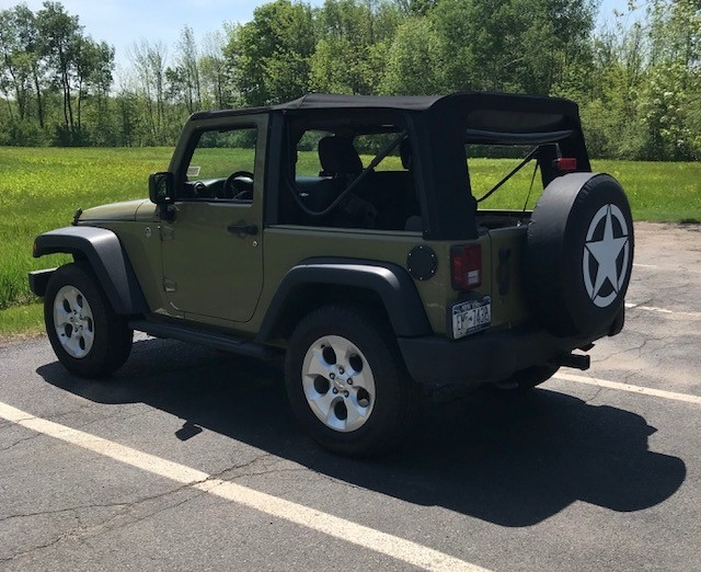 Military Star Tire Covers