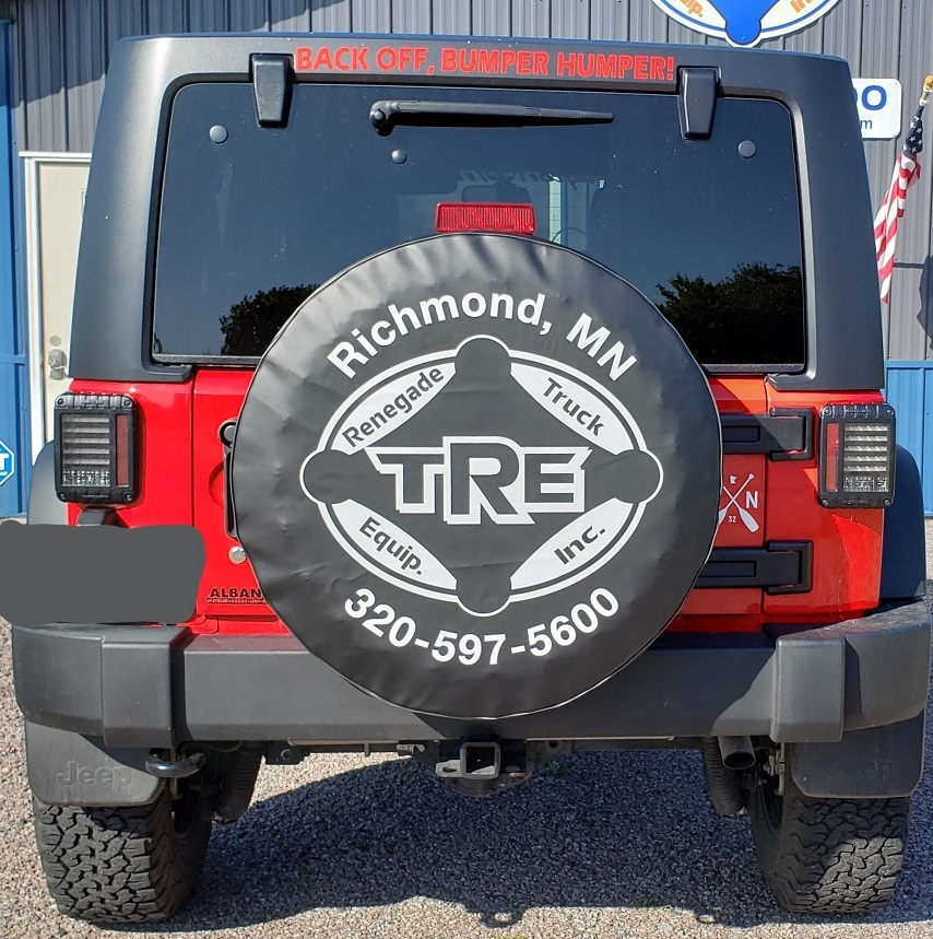 Custom Jeep Renegade Tire Covers