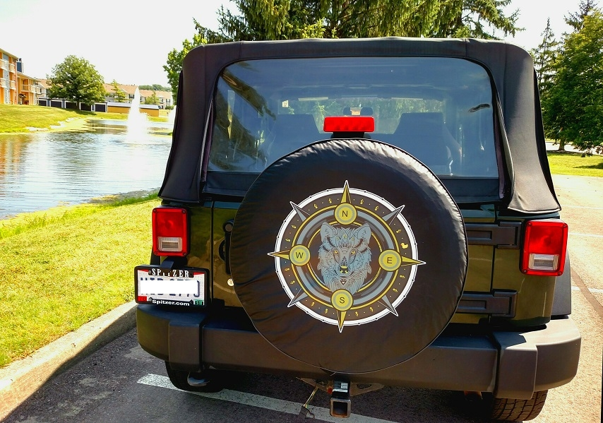 Custom Jeep Wrangler Tire Covers