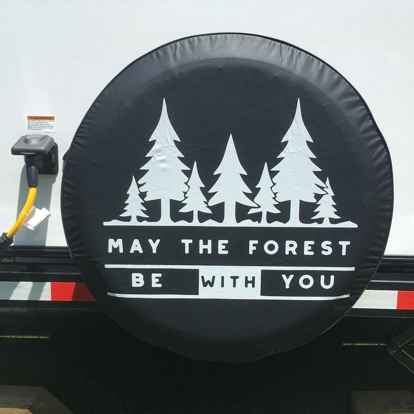 May The Forest Be with You tire cover