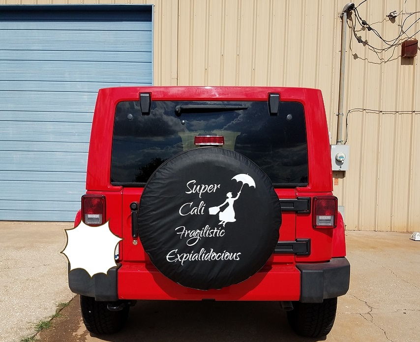 Custom Made Tire Cover