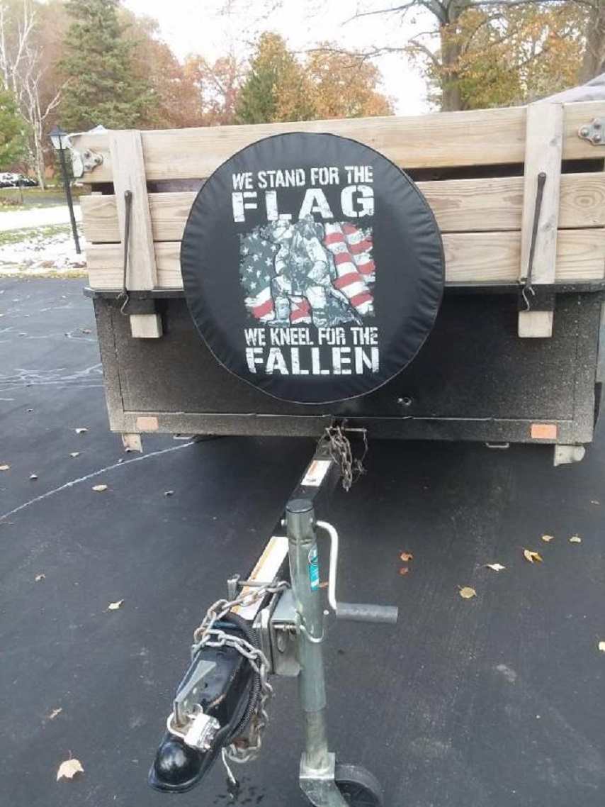 Tire Covers for Trailer Spare Tires