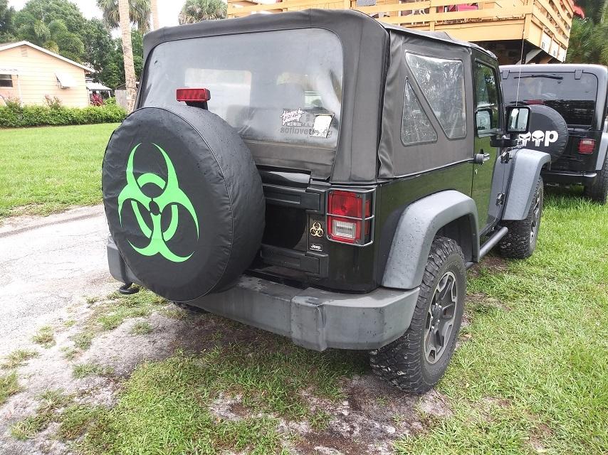 Biohazard Customer tire cover photo