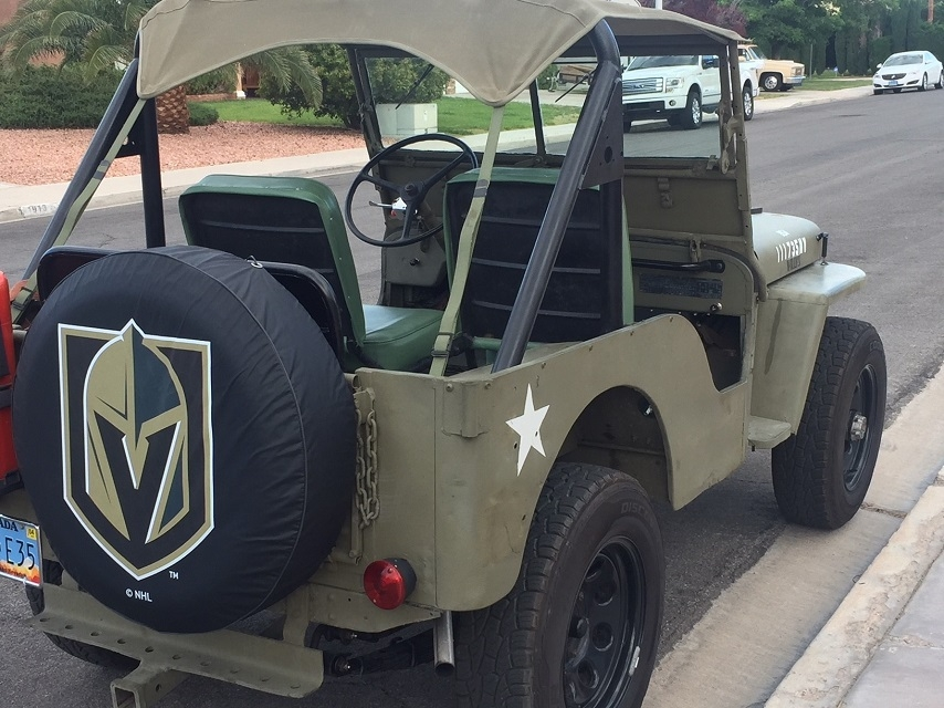 Vegas Knights Tire Covers
