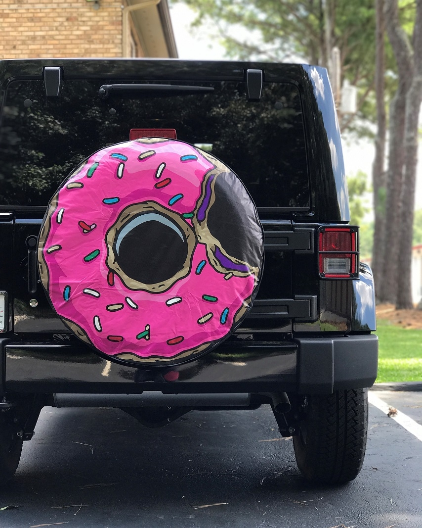 Jelly Doughnut Tire Cover