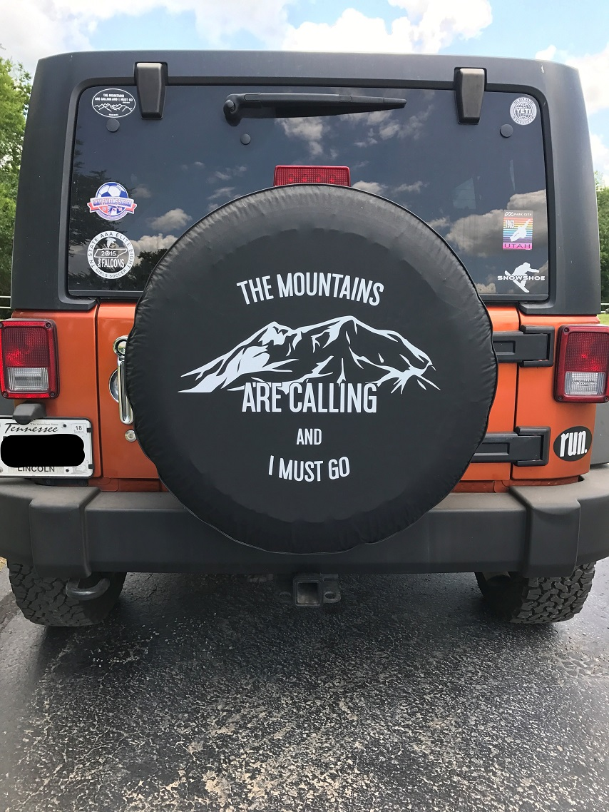 Mountain Tire Cover