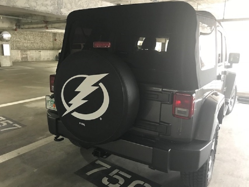 Tampa Bay Lightning NHL Tire Cover