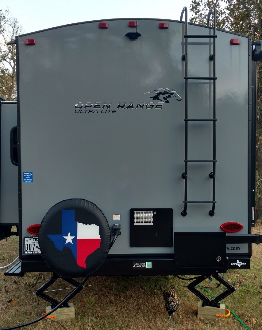 State of Texas Outline tire cover