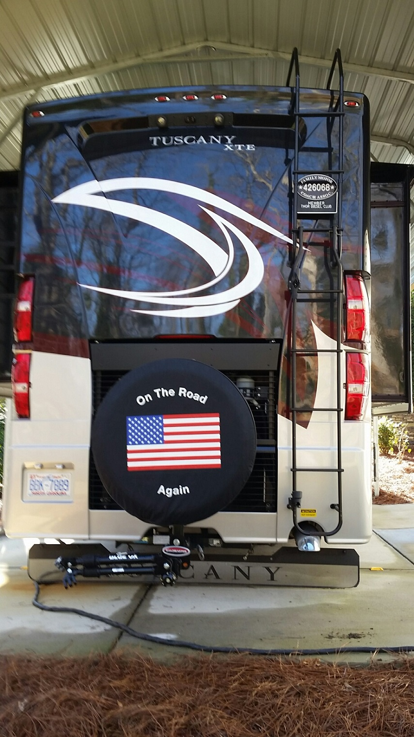 Motorhome tire covers