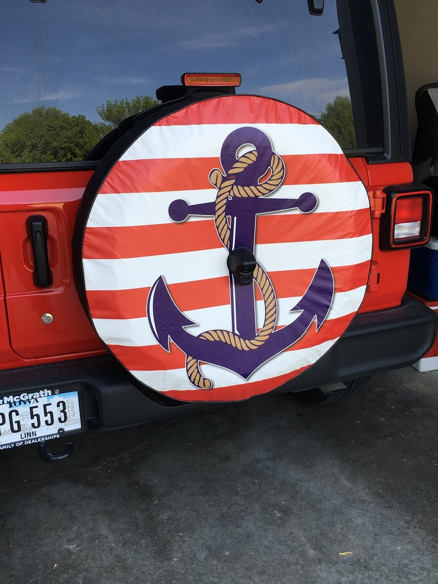 Anchor Tire Cover