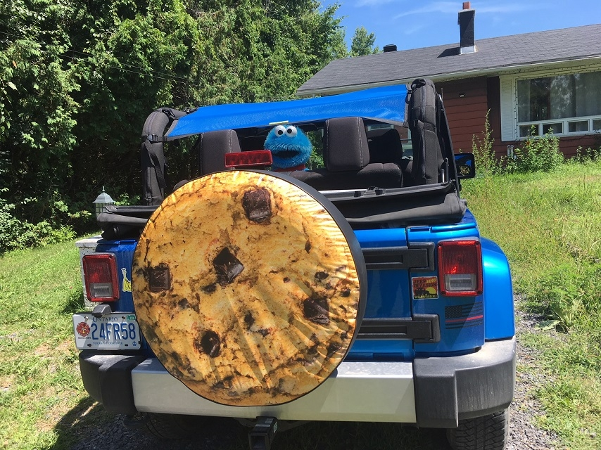 Cookie Tire Cover