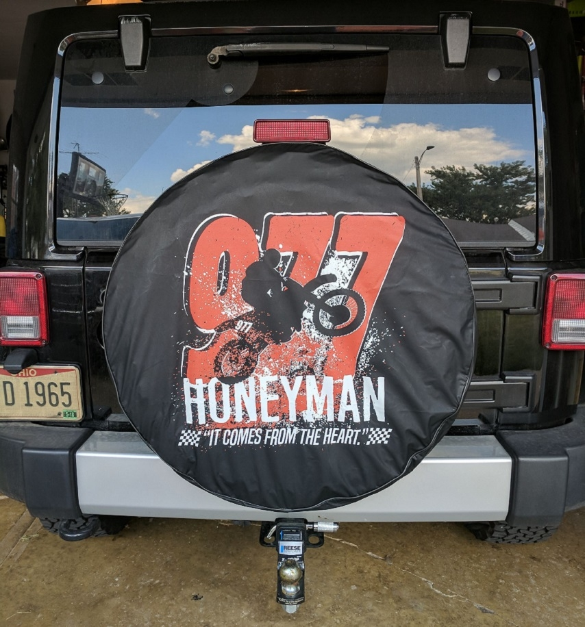 Custom Designed Tire Covers with Cheap Pricing