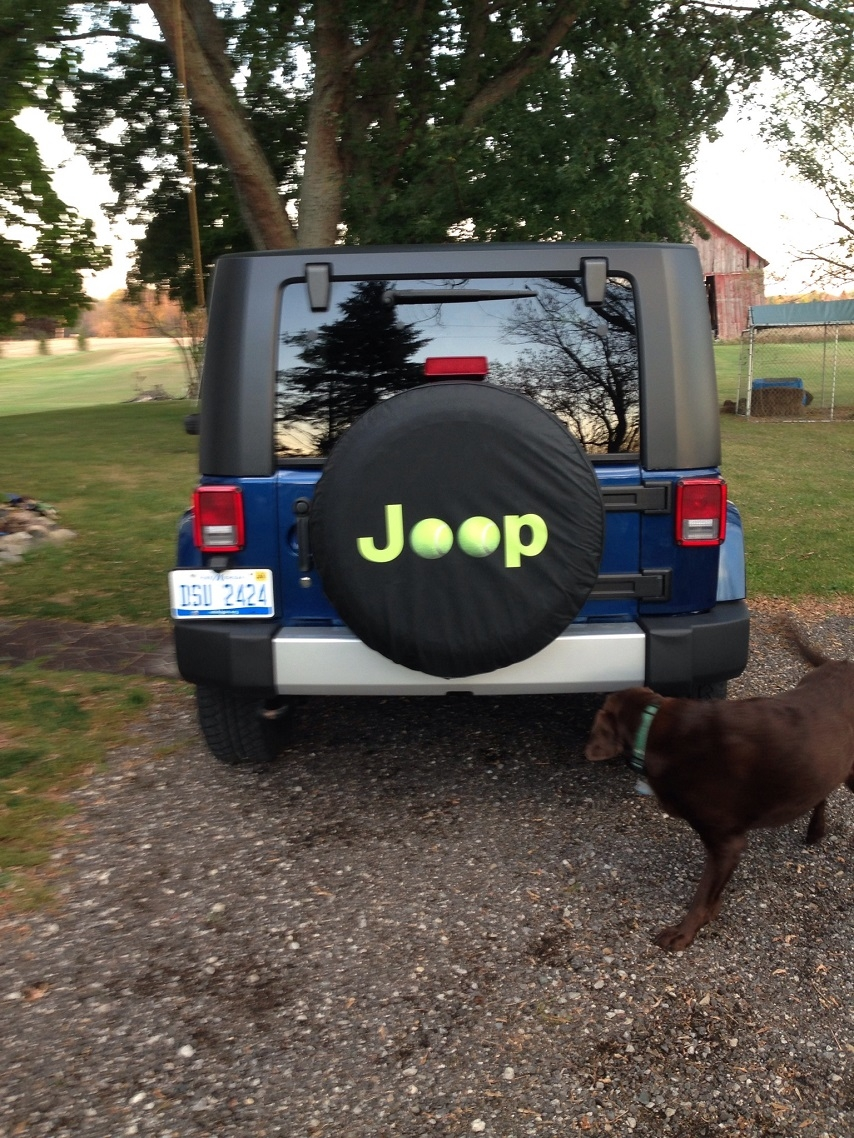 jeep Tennis Ball Tire Covers